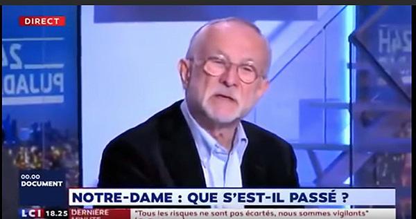 本杰明・穆栋接受法国电视台采访。视频截图